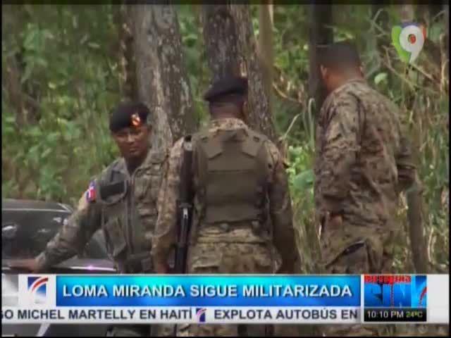 Loma Miranda Continua Militarizada Y El Padre Rogelio Verifica Que No Hay Maquinaria Pesada En La Loma #Video