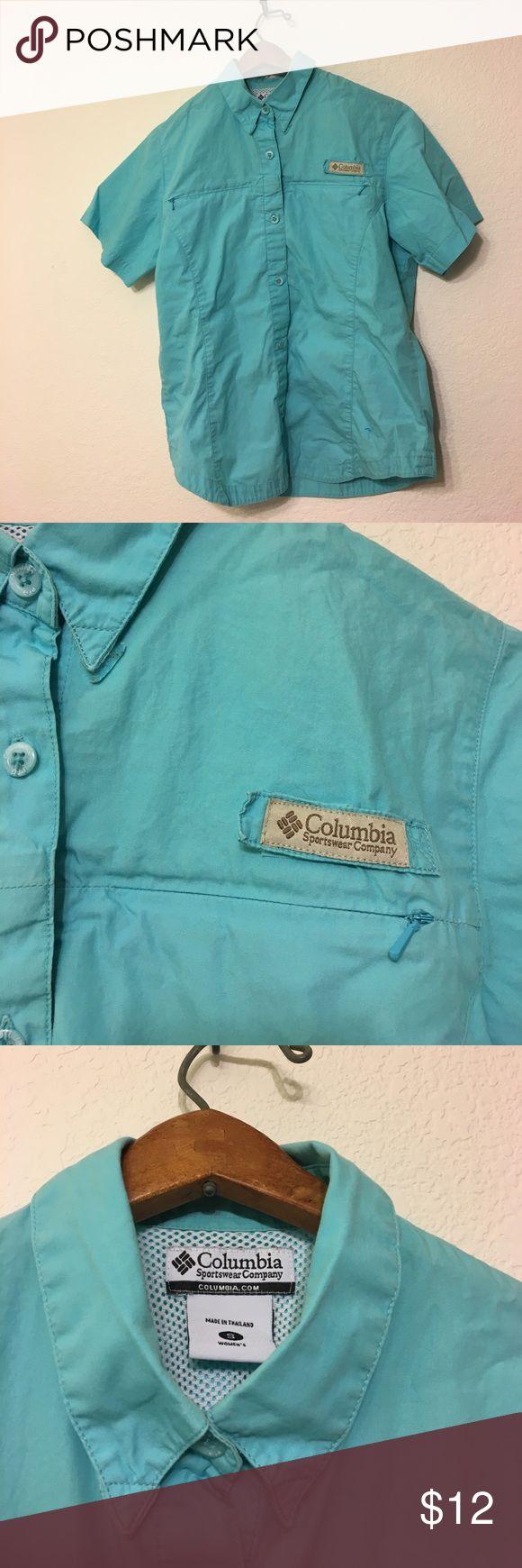 Columbia Women's Small Button Up Shirt Lightweight Columbia fishing shirt great for outdoor activities! Columbia Tops Button Down Shirts