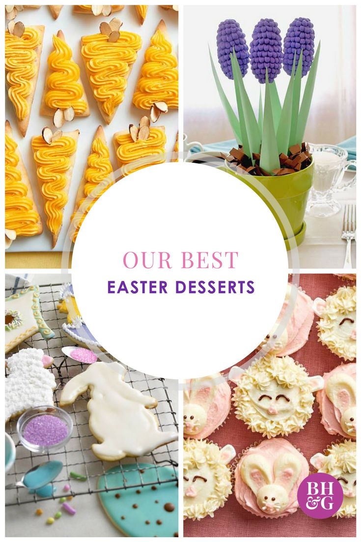 Celebrate Easter with these egg-cellent dessert recipes! With 30 to choose from, you are sure to find one that the whole family will enjoy! #easter #easterdesserts #desserts
