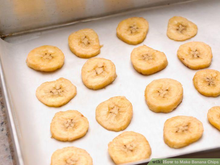 Make Banana Chips