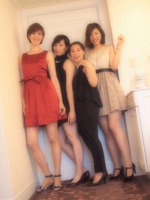 栗原恵 一泊二日のチーム旅行 みんなでドレスアップして…♡