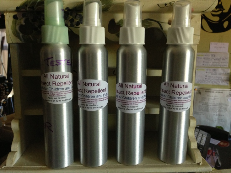 All natural insect repellant, made with pure essential oils of lemon eucalyptus, citronella and lavender. $7.99