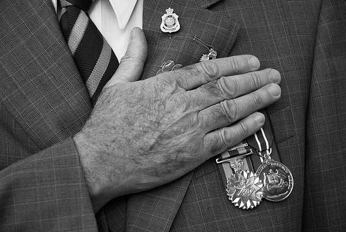 Anzac Day assignment by Pen Tayler, via Flickr