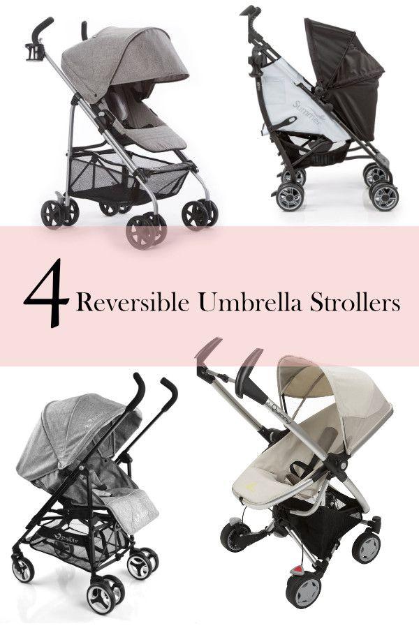 Rear facing umbrella stroller | Reversible umbrella stroller | Parent facing umbrella stroller | ourguidetotheeveryday.com