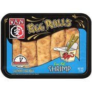 ***Van: Shrimp (or Chicken) Low Fat Egg Rolls, 15 Oz - microwave too moist, toaster oven great,  kikkoman sweet and sour sauce not good - kikkoman duck sauce ok - apricot sauce great