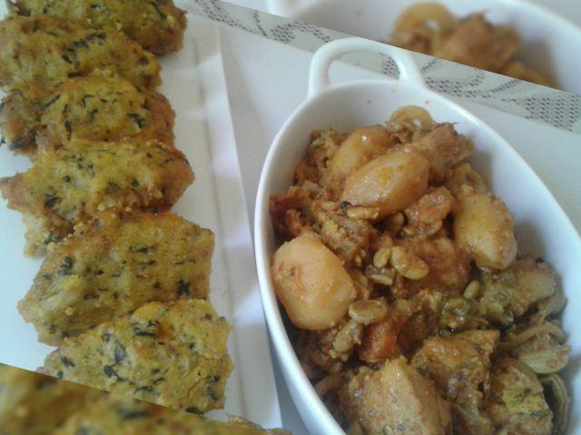 Moothias n veggie curry