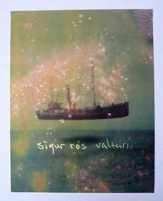 Sigur Ros *Valtari* Matte Promo Poster RARE Jonsi Takk Von Ágætis byrjun
