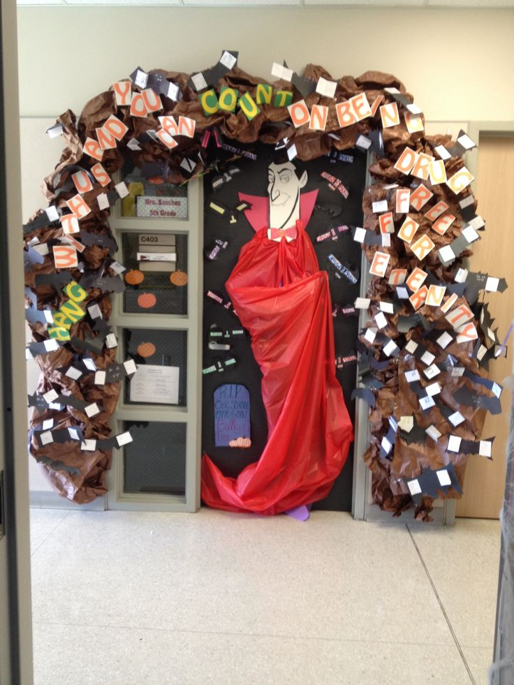 Free Decorating Ideas Part - 37: Drug Free Door Decoration!! Hang With Us And You Can Count On Being Drug