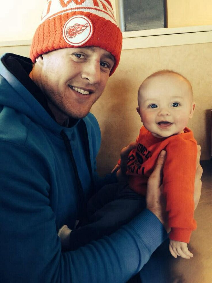 JJ Watt and his friends nephew Maddox❤️                                                                                                                                                                                 More