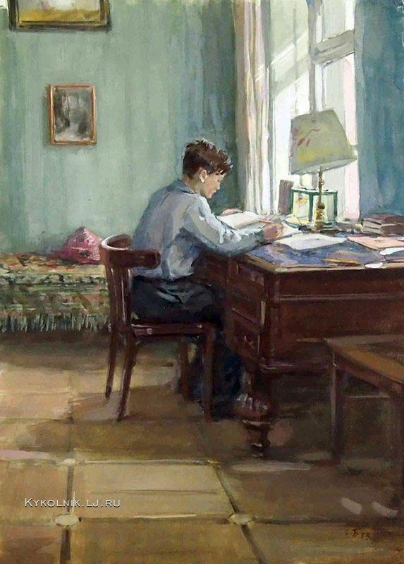 Изобразительное искусство СССР. Студенты - «Впечатления дороже знаний...»