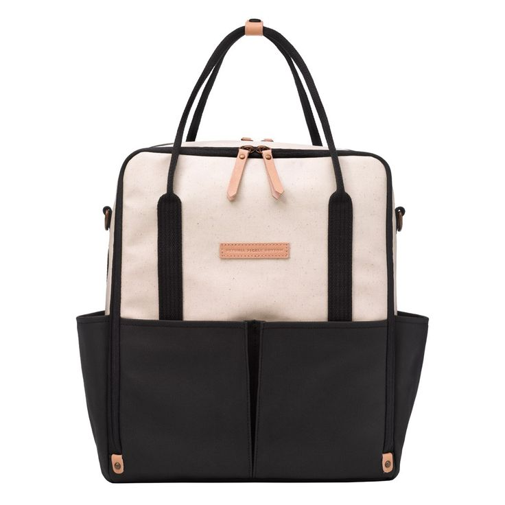 Petunia Pickle Bottom Intermix Backback - Birch & Black | Specialty Diaper Bags for Trendy Moms!