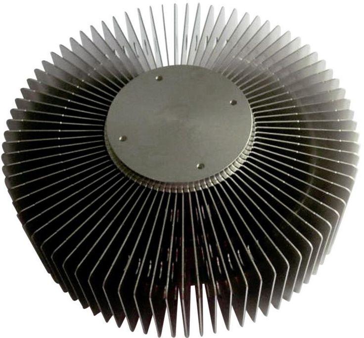 Heatpipe koellichaam QuickCool QL-14356AL-33S (Ø x h) 143 mm x 50 mm