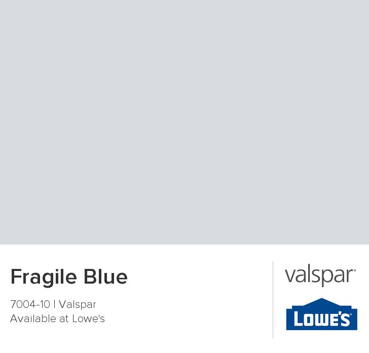 Fragile Blue from Valspar    bedroom bed wash ?