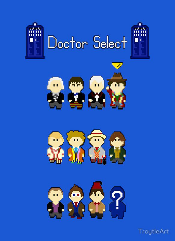 """""""Doctor Select"""" Posters by TroytleArt 