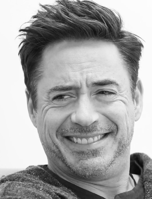 Robert Downey Jr. (by Sam Jones for Off Camera)