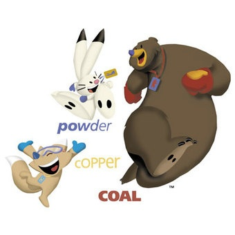 Powder, Copper, and Coal  2002 Salt Lake City Olympic mascots
