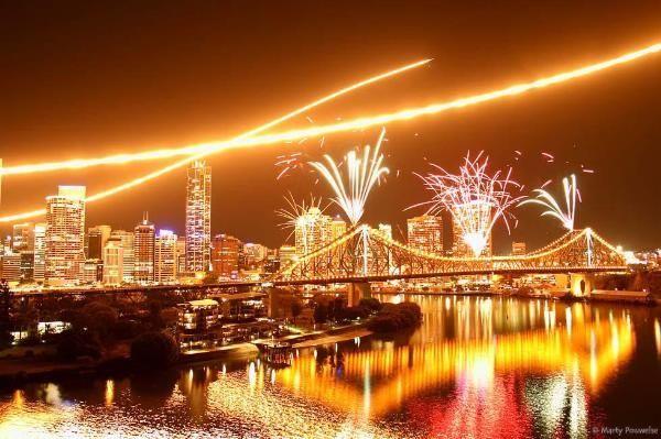 Brisbane Riverfire. AWESOME.