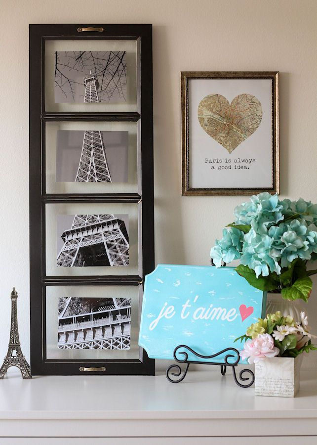 Cute Paris Decor ideas for your home { lilluna.com }
