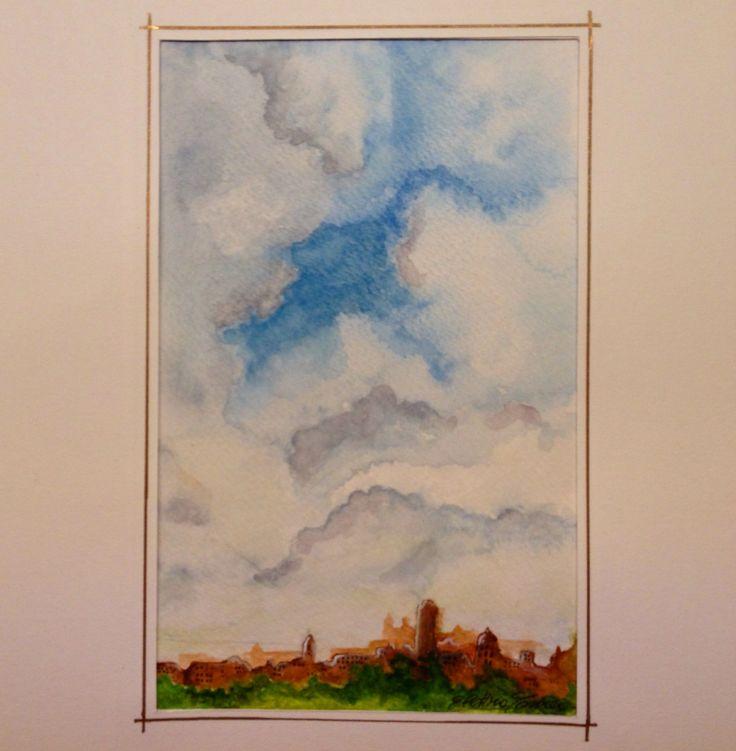 Elettra Tomei - acquerello paesaggio