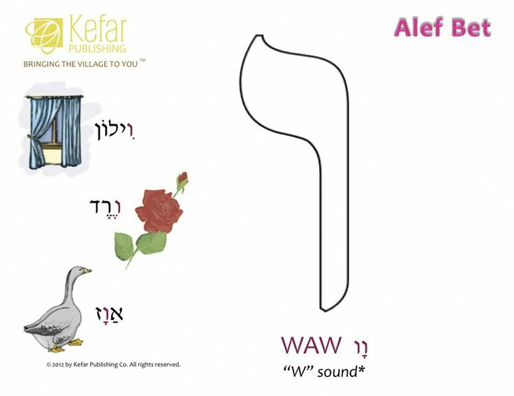44 Best Hebrew Aleph Bet Images On Pinterest Learn