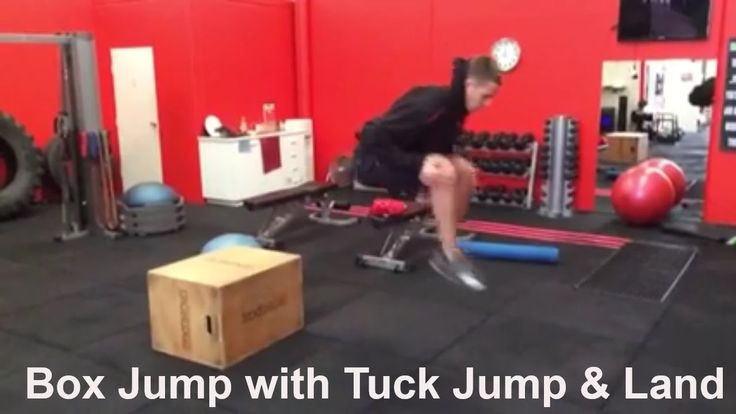 4 Box Jump Progressions To Prevent Knee Injury By Improveing Braking Ski...