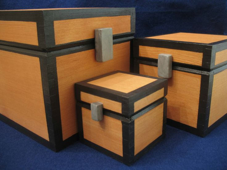 How To Build A Storage Chest In Minecraft - WoodWorking ...
