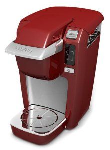 Keurig Mini B31 Plus Red Coffee Maker from Keurig...had to get this one also! this will look great in my kitchen!!