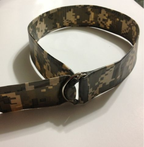 Camp Crafts... The Belt of Truth         Materials:    Duct Tape - I