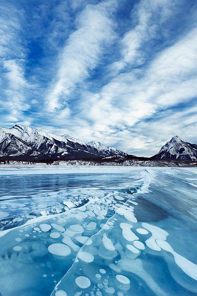 アブラハム湖(Abraham Lake)/カナダ