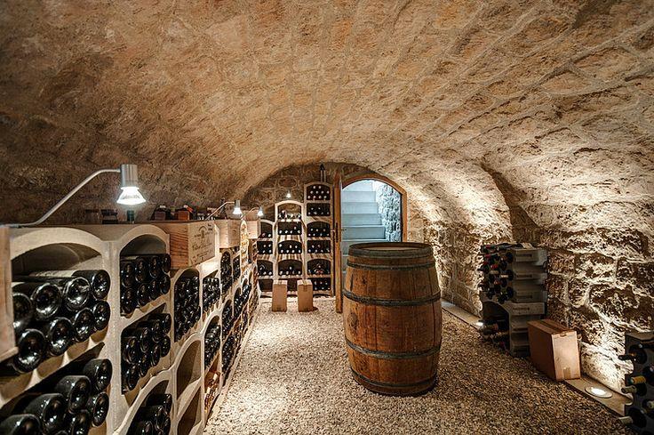 cave à vins - extension contemporaine par Jean-Philippe Doré - Vexin, France…