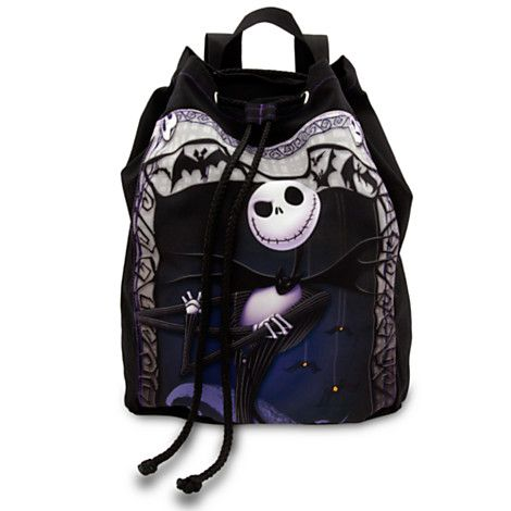 Jack Skellington Cinch Sack Backpack - Regular