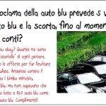 Renzi, 5 auto blu per ministero. Scajola aveva l'auto blu