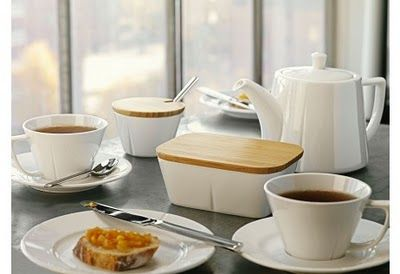 Aromatyczna kawa w królewskim GRAND CRU! ROSENDAHL - DECO Salon. Coffee set for 4 people. Coffee service made of high quality porcelain #designforhome #kitchenaccessories #kuchnia #akcesoria #scandinaviandesign