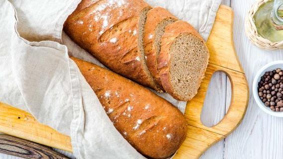 Ржаной хлеб на спелом тесте