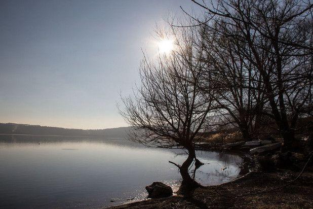 Tramonto..Sunset..  Lago di Vico. Photo R. Cianchi
