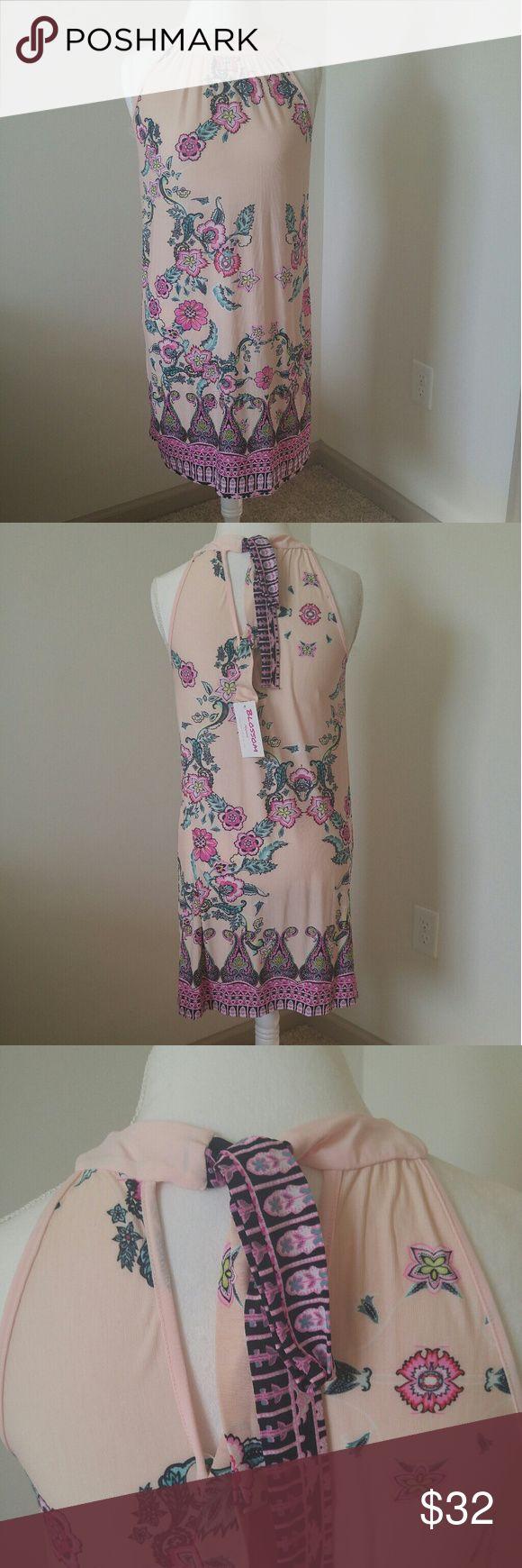 ??JUST IN???Blossom Apparel tie back dress Blossom Apparel tie back dress. SUPER cute dress! Blossom Apparel Dresses Midi