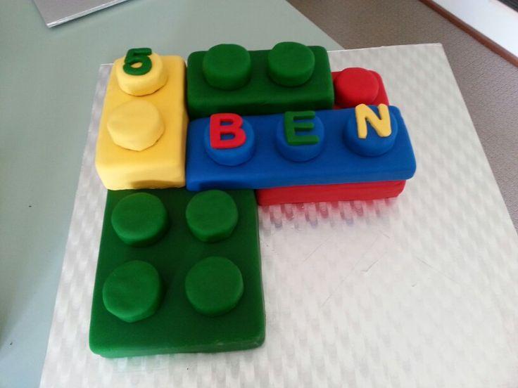 Lego cake for my nephew