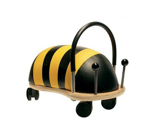 Wheelybug Bij klein, Vlieg door het huis op deze super snelle bij! Geschikt voor kinderen van 1 tot en met 4 jaar.  http://www.planethappy.nl/wheelybug-bij-klein-5802736.html