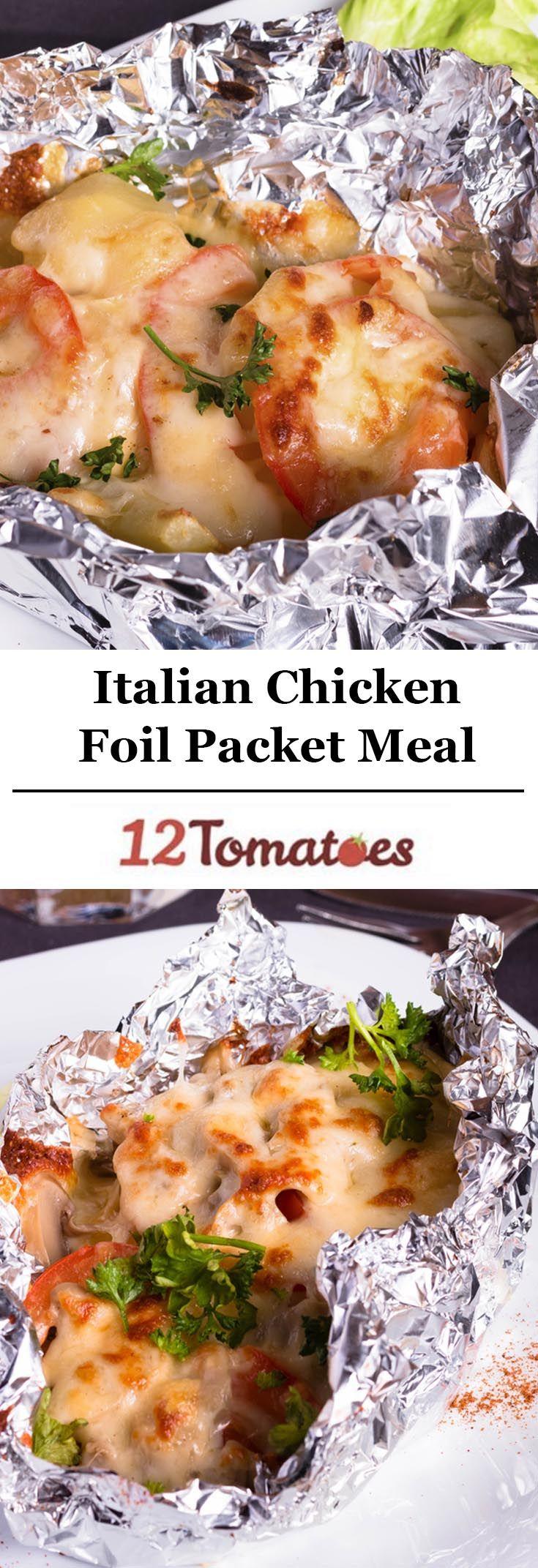 Italian Chicken Foil Packet
