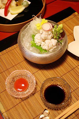 Kyoto Ryokan: Kyoto Summer Hamo Cuisine Gion Hatanaka (鱧 は も 料理)