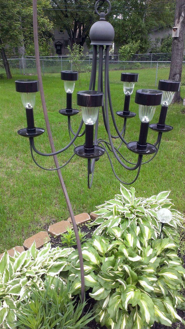 Extraordinary Outdoor Lighting Ideas Wedding Just On Kennys Landscaping Design Solar Light Chandelier Outdoor Solar Lights Outdoor Chandelier