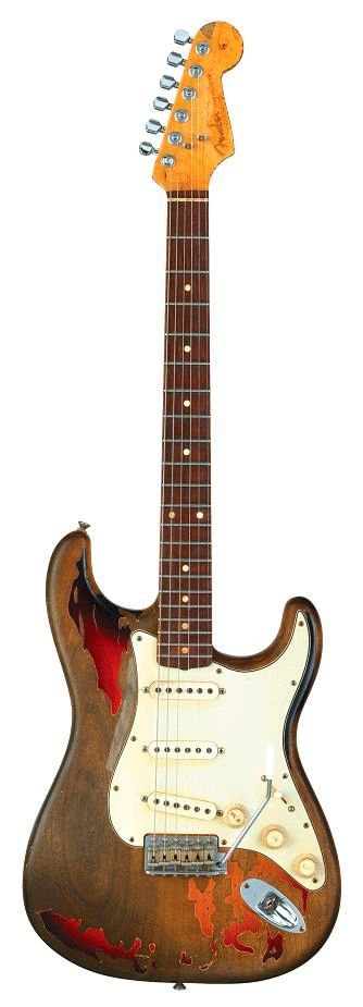 it expressed his soul ~ with blues, rock roll ~ it sustained him Rory Gallagher's - Fender Stratocaster