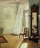 Adolph von Menzel – Balkonzimmer, 1845