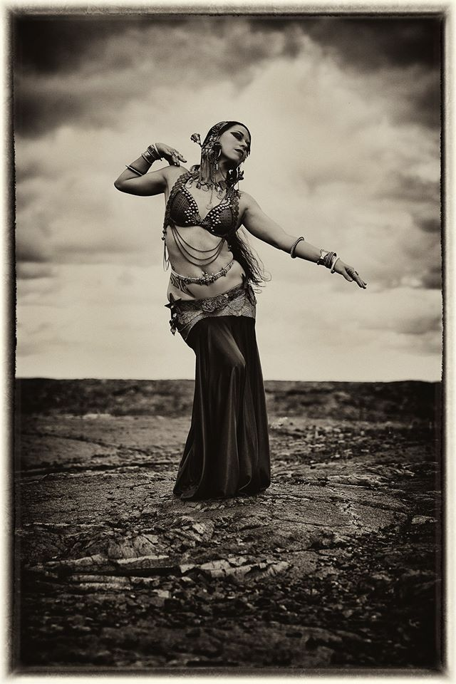This is Kalae Kaina of @Shakti Dance Movement, shot by Sequoia Emmanuelle Photography.  This image was shot on the lava fields of Kalapana where her ancestors are from.