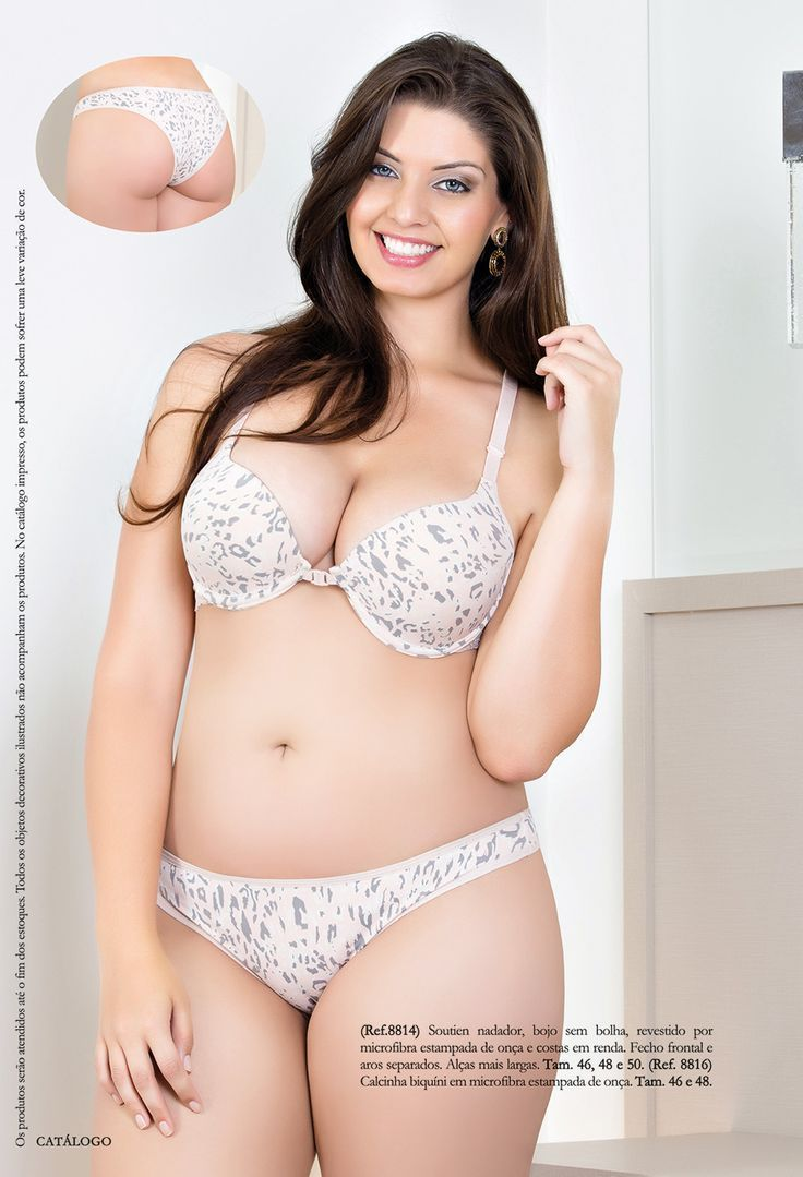 Plus size lingerie models 3