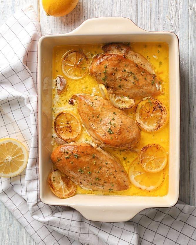اطيب طبخة Atyabtabkha On Instagram طريقة عمل تشيكن ليمون صوص المكو نات صدر دجاج 4 ملح بحسب الرغبة فلفل أسود بحسب Chicken Recipes Cooking Food