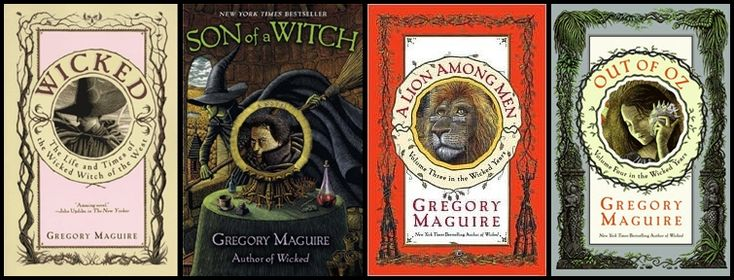 Gregory Maguire - The Wicked Years; Wicked, Son of a Witch, A Lion Among Men, & Out of Oz.  A Lion Among Men wasn't great, but loved the others.
