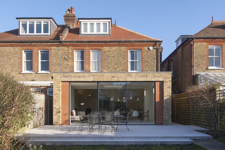 Located within a Conservation Area, the Brick House is a fine example of domestic Edwardian architecture typical of many London suburbs.