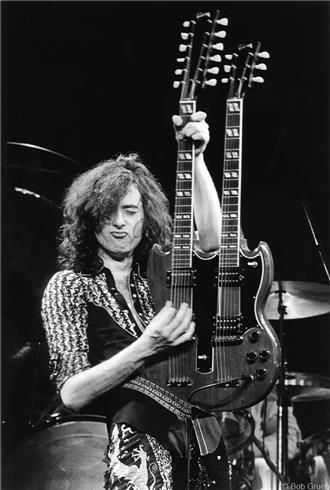 Jimmy Page #guitarphotography