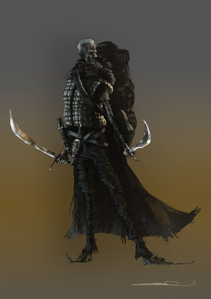 fantasy warrior Dungeons & Dragons By Emanuele Desiati